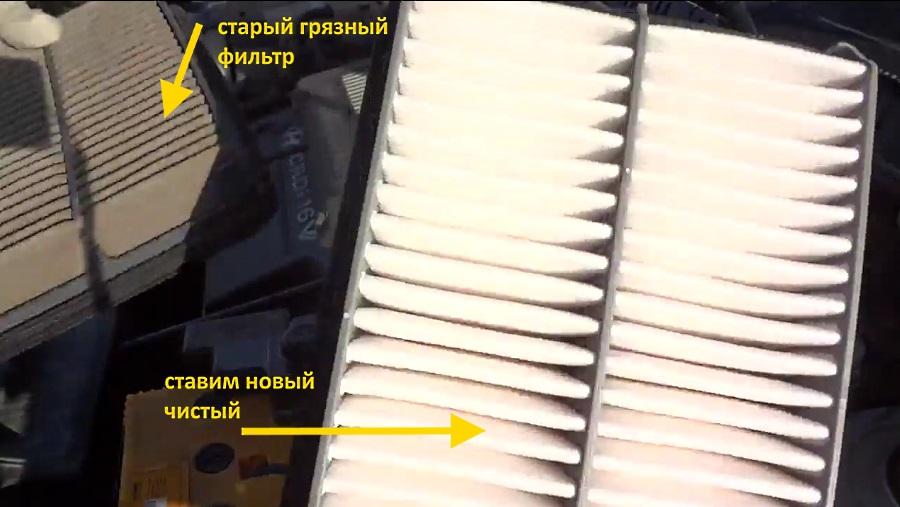 для чего нужен воздушный фильтр в автомобиле