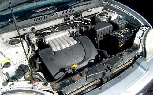 двигатель хендай санта фе классик 1