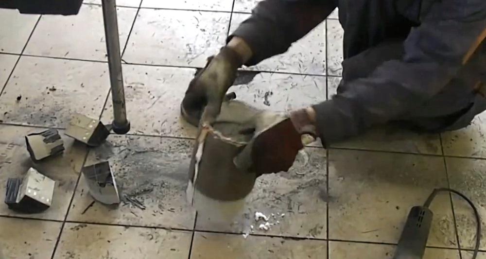 как заменить сажевый фильтр на универсальный катализатор