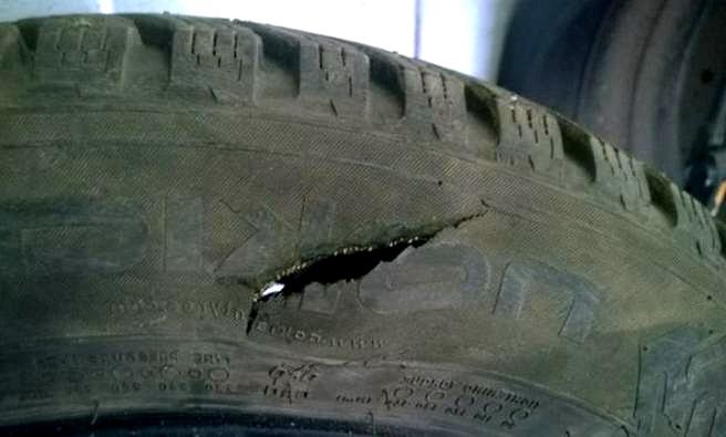 ремонт авто шины