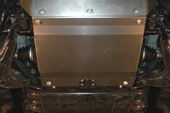 защита двигателя хендай санта фе из нержавейки