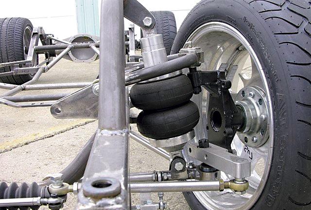 Как работает пневматическая подвеска колес автомобиля
