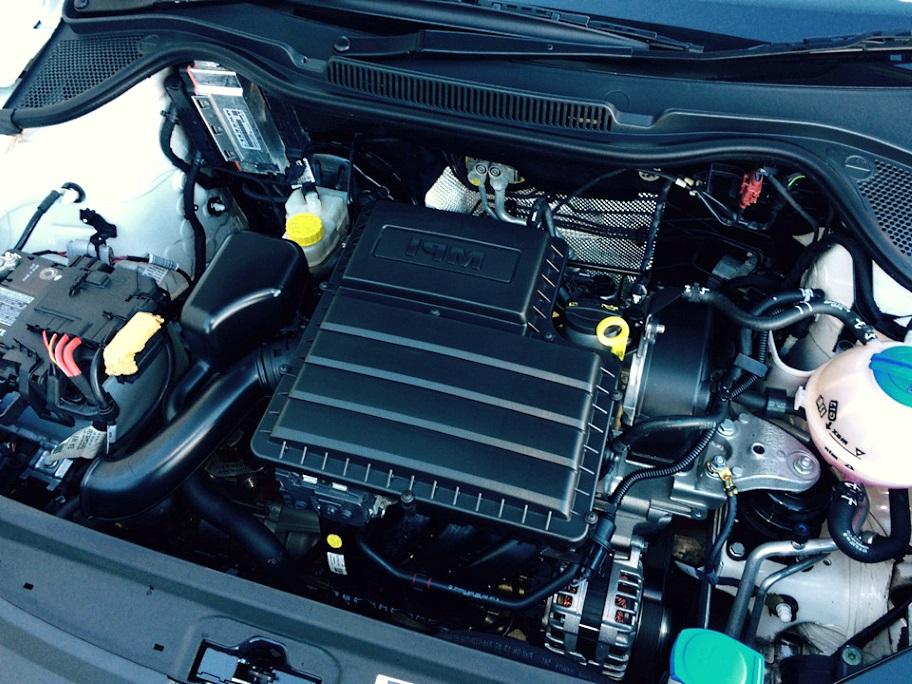 чистый помытый двигатель