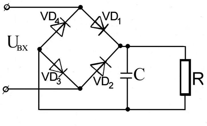 диодный мост для импульсной зарядки аккумулятора
