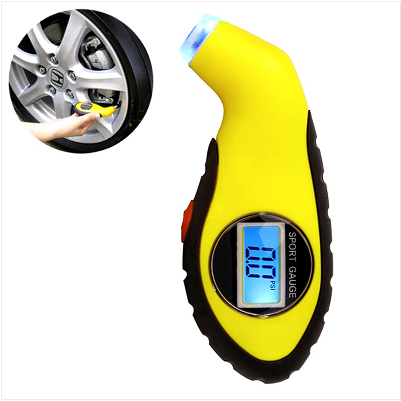 электронный манометр для автомобиля