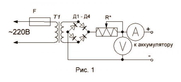 Самый простое зарядное устройство своими руками