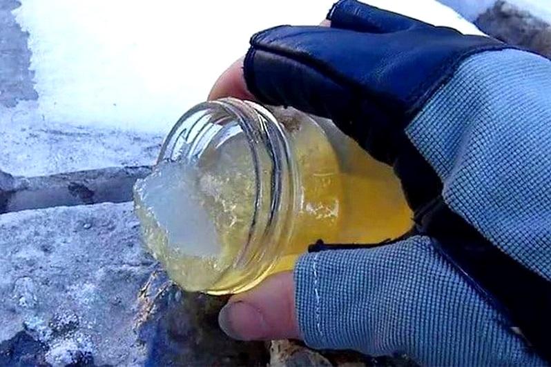 масло густеет на морозе