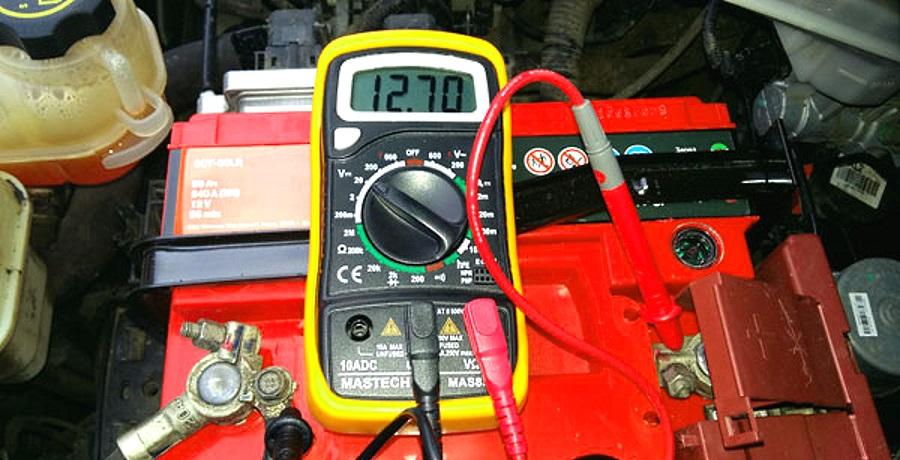 проверка генератора мультиметром на автомобиле