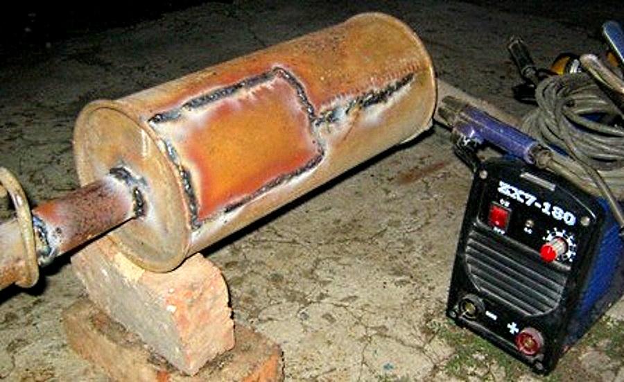 ремонт глушителя автомобиля