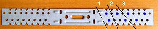 металлический подвес для ремонта бампера