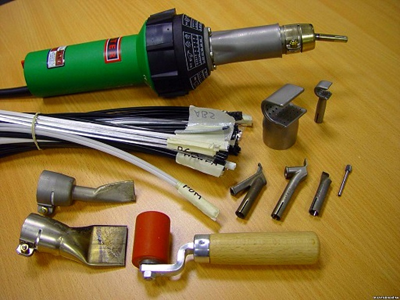 набор для самостоятельного ремонта автомобильного бампера