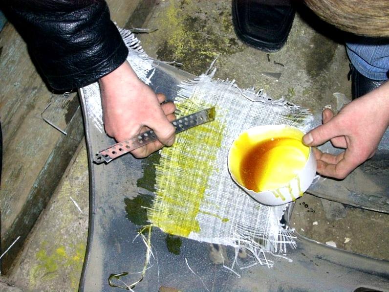 Реставрация бампера своими руками видео 151