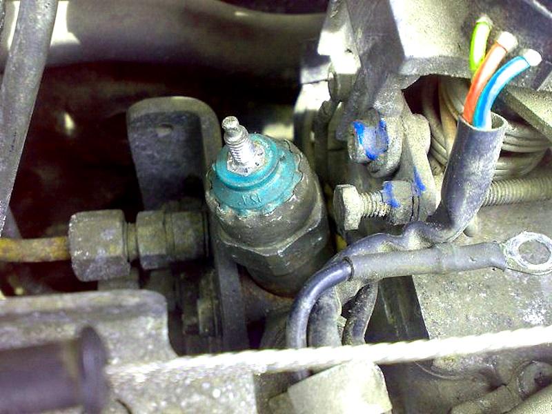 ремонт электромагнитного клапана ТНВД