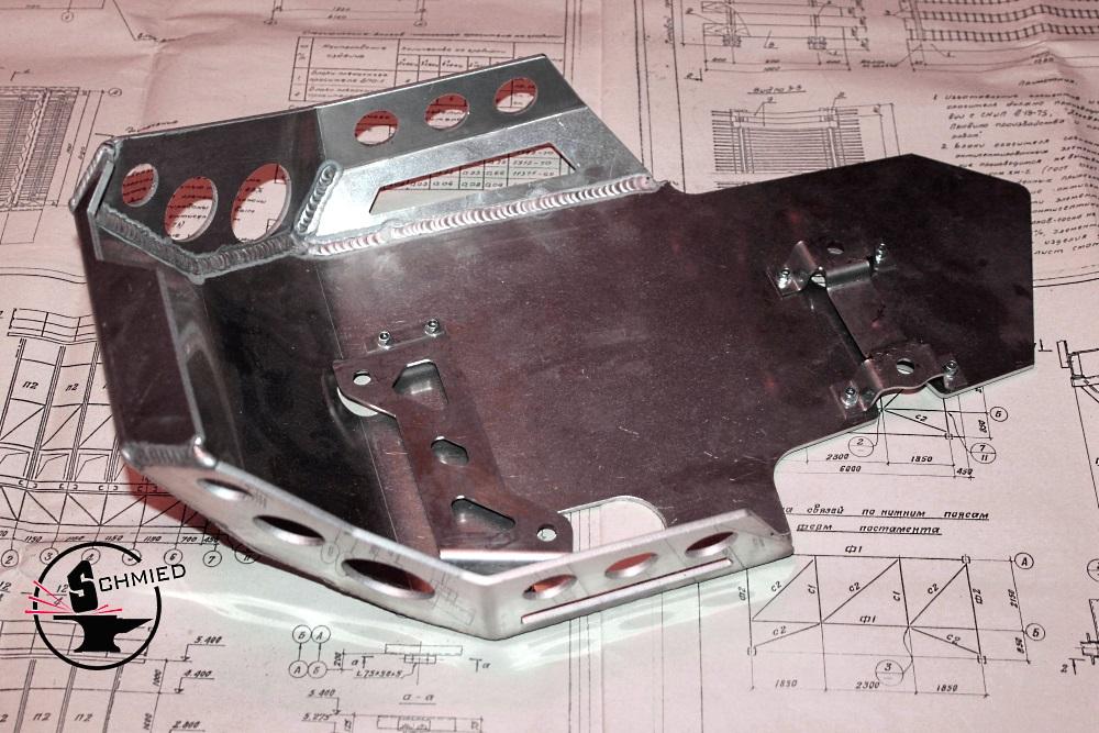 самодельная защита для двигателя своего автомобиля