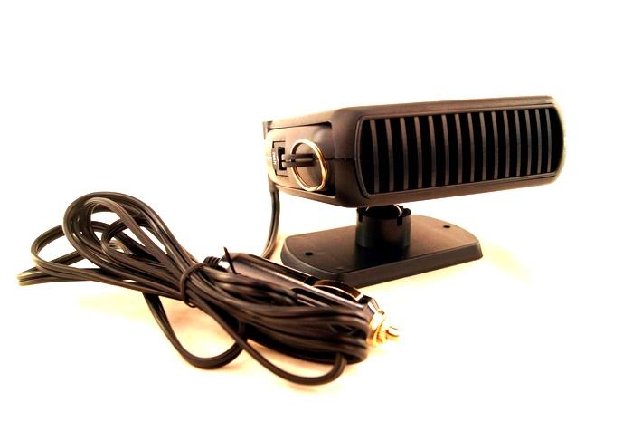 Обогревающий автомобильный вентилятор