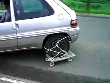 что делать если спустило колесо из под обода