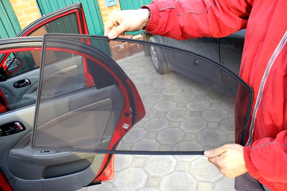 Сетка на окна авто своими руками 16