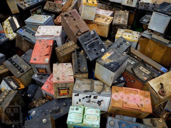 Сдать старый аккумулятор цена