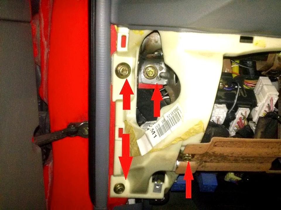 Снятие торпеды и ремонт радиатора печки хендай санта фе