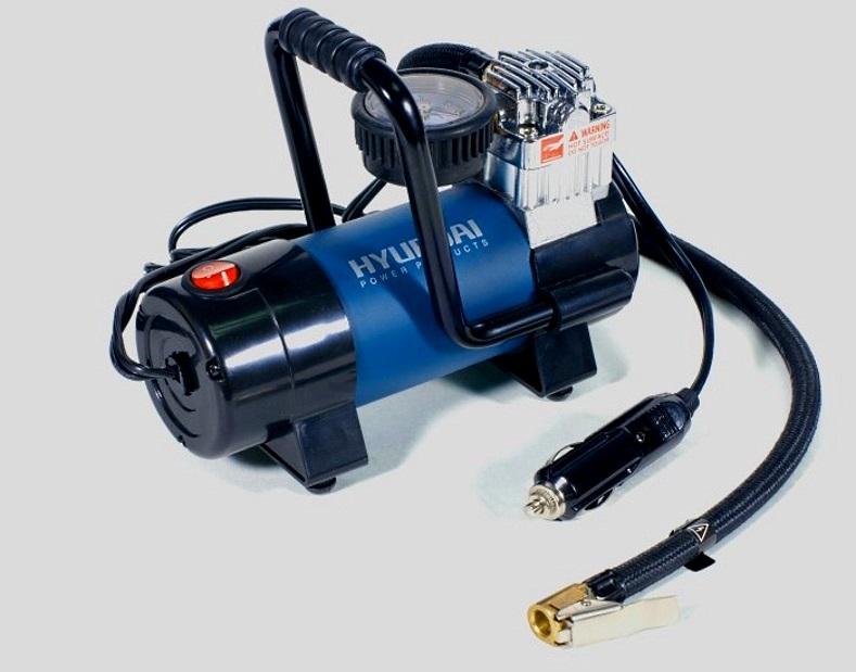 автомобильный компрессор для подкачки шин с штекером в прикуриватель