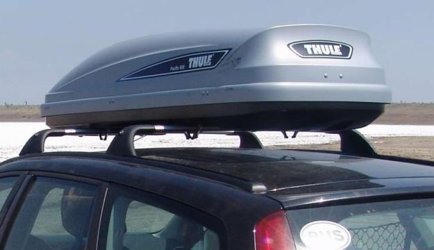 багаж на крыше автомобиля