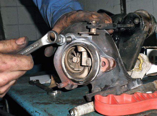 как отремонтировать турбину дизельного двигателя