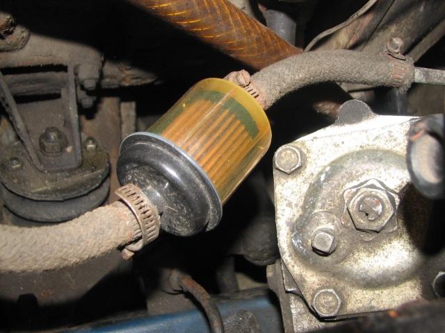 не заводится автомобиль из за засоренного топливного фильтра