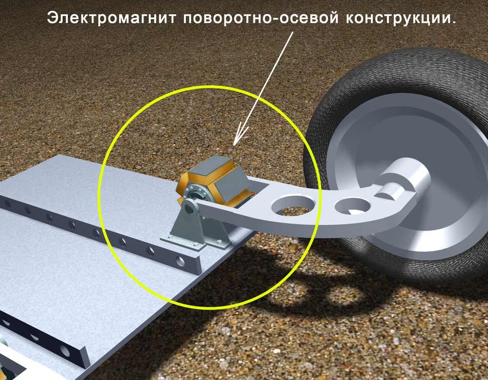 подвеска автомобиля магнитная