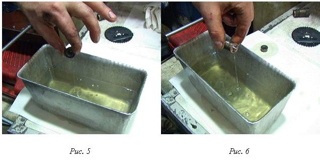 промывка форсунки двигателя