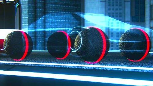 сферическая электромагнитная подвеска для автомобиля