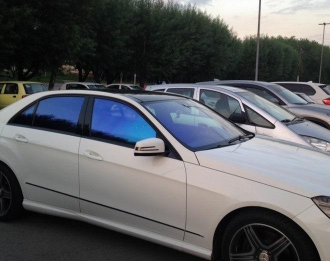 цветная тонировка стекл автомобилей