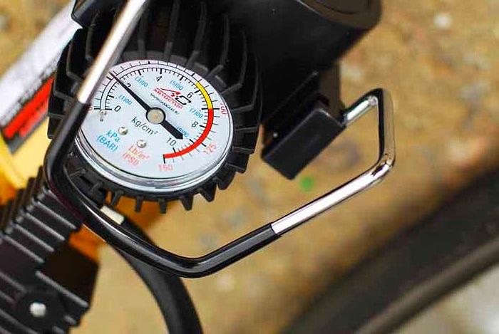 выбор компрессора для накачки шин