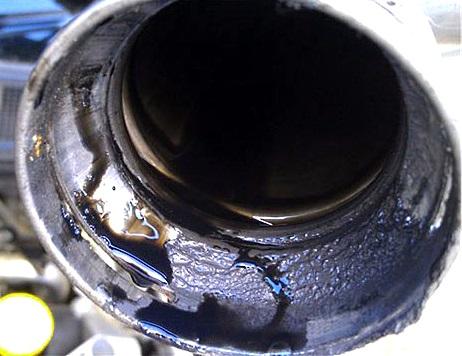 Турбина гонит масло в интеркулер
