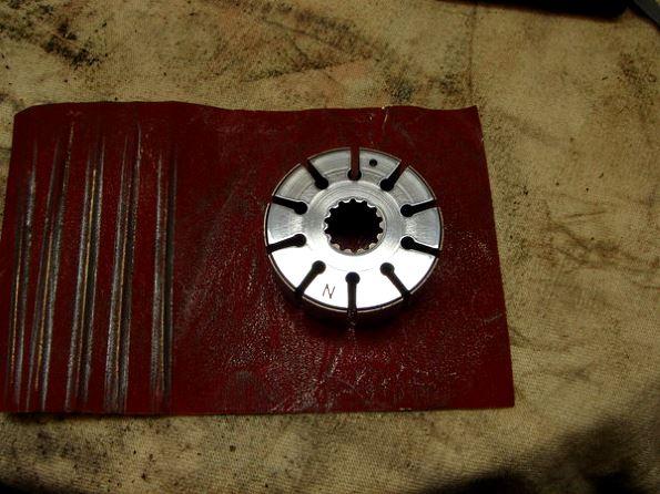 боковая шлифовка шестерни гур