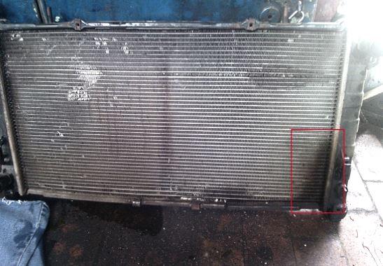 определяем течь в радиаторе