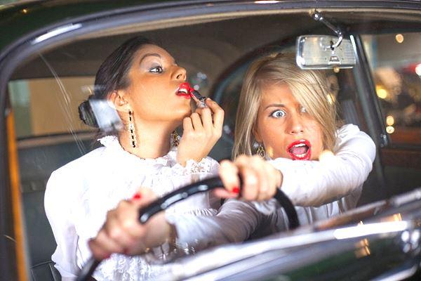 красивые женщины водители