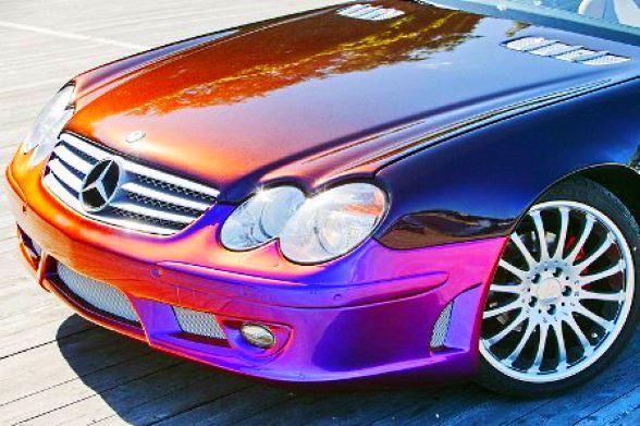 какие бывают автомобильные краски