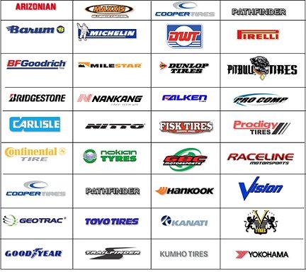 Производители шин самые популярные и известные