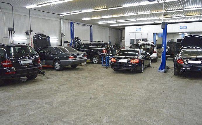 Обслуживание автомобиля Мерседес