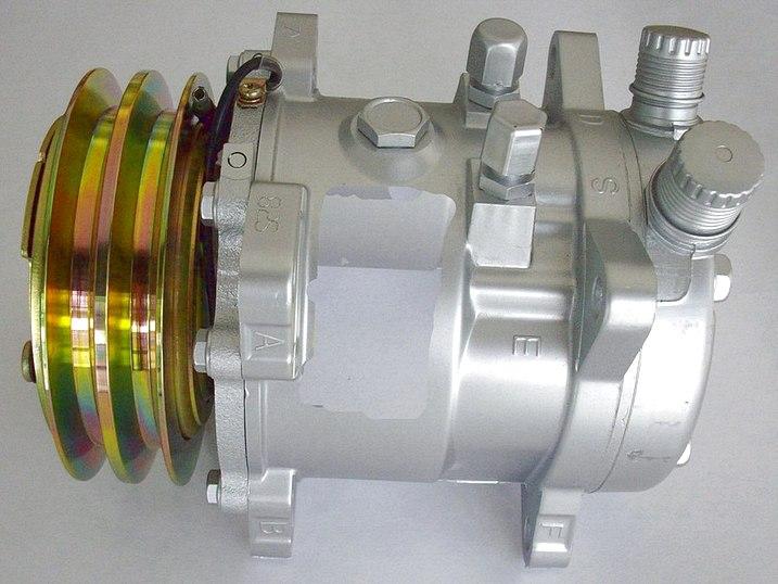 Ремонт компрессора кондиционера автомобиля