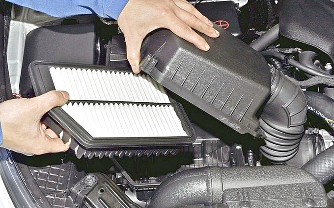 где воздушный фильр автомобиля