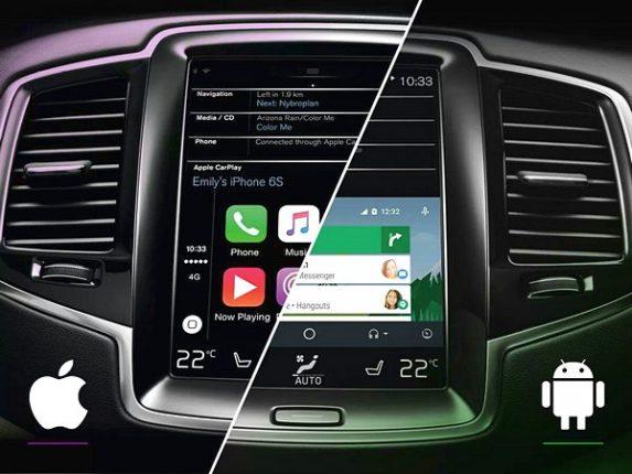 Apple CarPlay и Android Auto