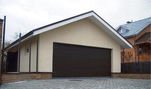 строим гараж для своего автомобиля