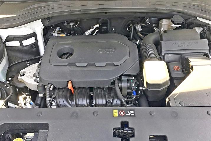 двигатель хендай санта фе 2019