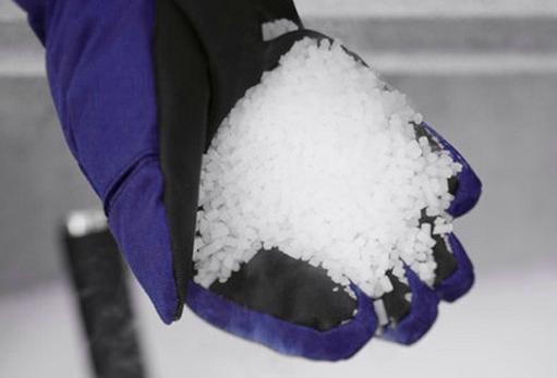 Как устранить вмятину с помощью сухого льда