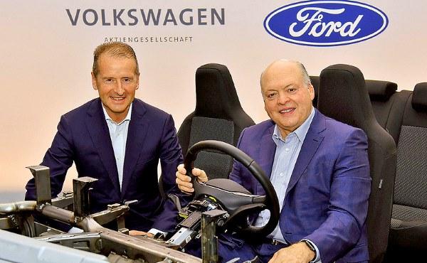 Сделка Форд и Фольксваген