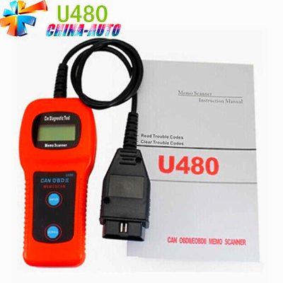 U480 CAN OBD2 OBD II Автомобильный диагностический сканер