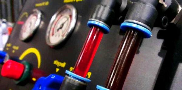 Замена рабочих жидкостей автомобиля