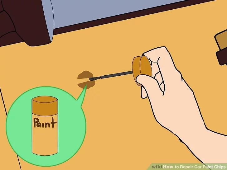 краска для подкрашивания сколов на машине