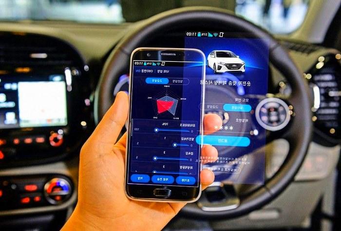 мобильные технологии в автомобилях хендай